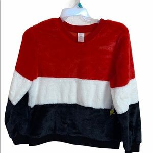 NOBO ColorBlock Fluffy Sweater Size XL